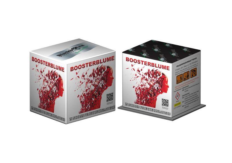 Boosterblume, 15 Schuss Batterie