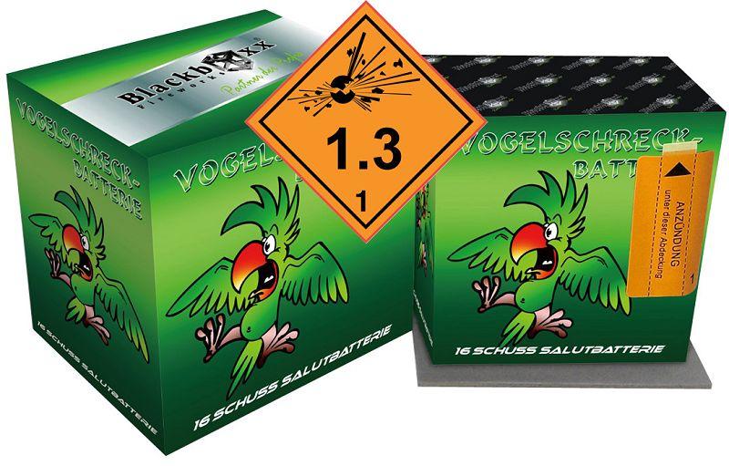 Vogelschreck-Batterie, 16 Schuss